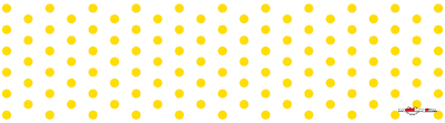 Colored dots yellow poster template