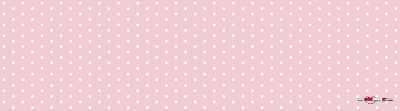 White dots pink poster template