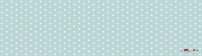 White dots light blue poster template