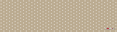 White dots tan poster template