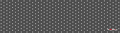 White dots black poster template